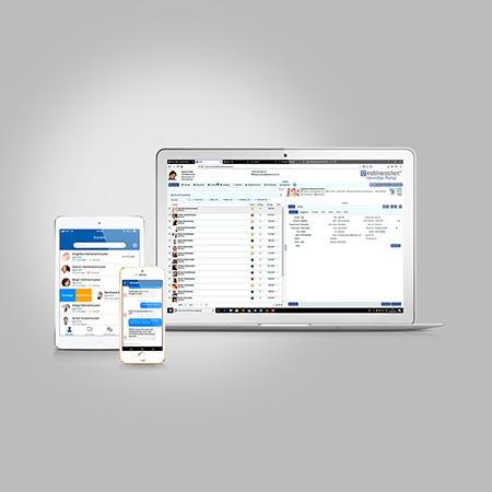 mobilversichert Screens